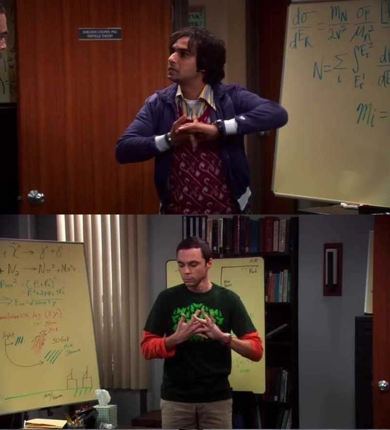 Loved the face off with Sheldon and raj 🤣🤣 come on how many tried it.. 👍