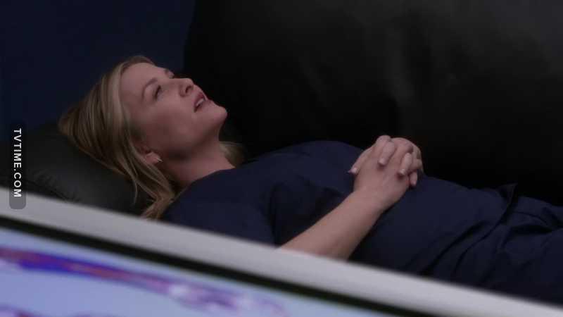 "The moment she said ""Callie""  💗 💗🌈"