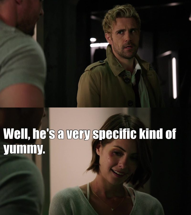 I couldn't agree more Thea!  (I miss Constantine too much btw)