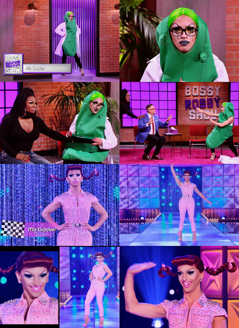 I think Miz Cracker was magnificent with the challenge and also she was unique on the runway. I wanted her to win!