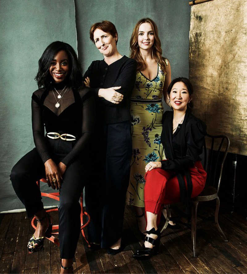 This show's women are amazing ❤️  We 👏🏼 love 👏🏼 a 👏🏼 diverse 👏🏼 female 👏🏼 cast