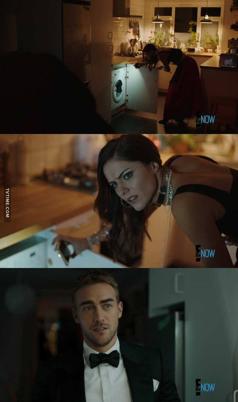 When Jasper was trying to explain to Eleanor what a washing machine is 😂 JASPENOR'S SCENES ARE THE BEST 😻