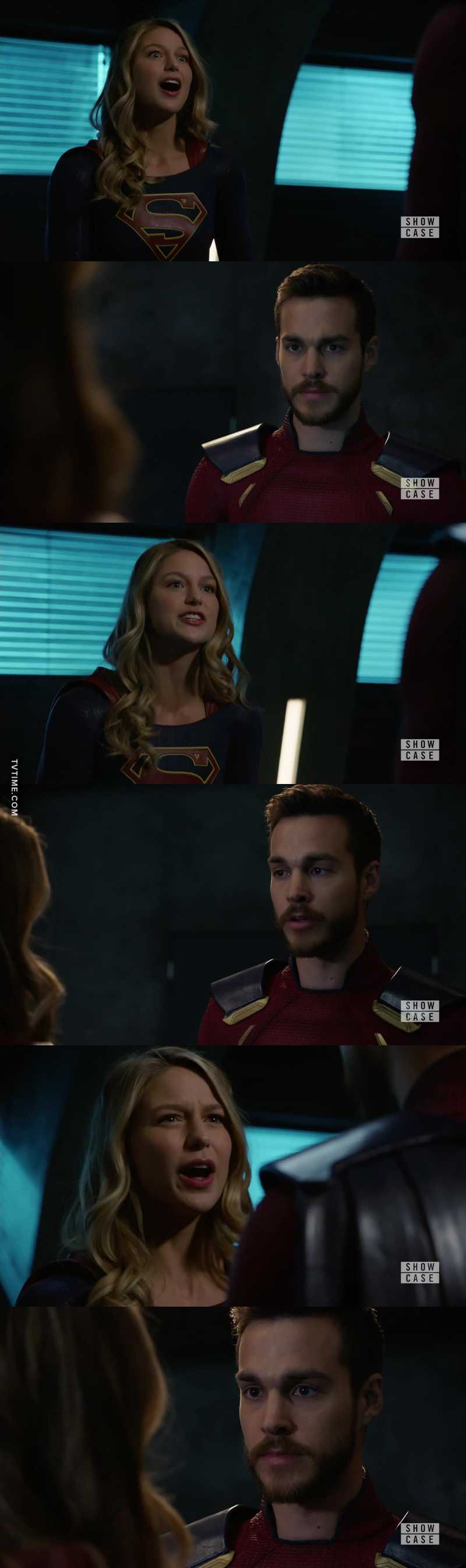 This broke my heart. I hated to see Kara and Mon-El fight. But it is what needed to happen. Kara was suppressing her feels about the whole Mon-El situation. Glad she finally got it off her chest.