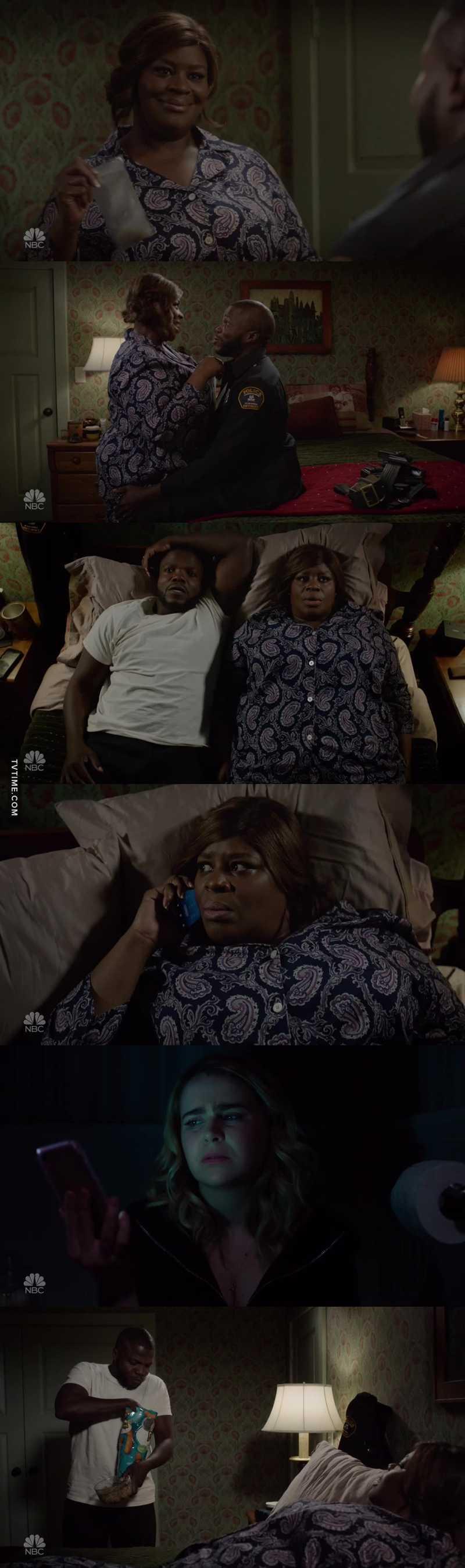 She got him high to interrogate him then she was so high she forgot how!! 😂😂😂 Ruby kills me.