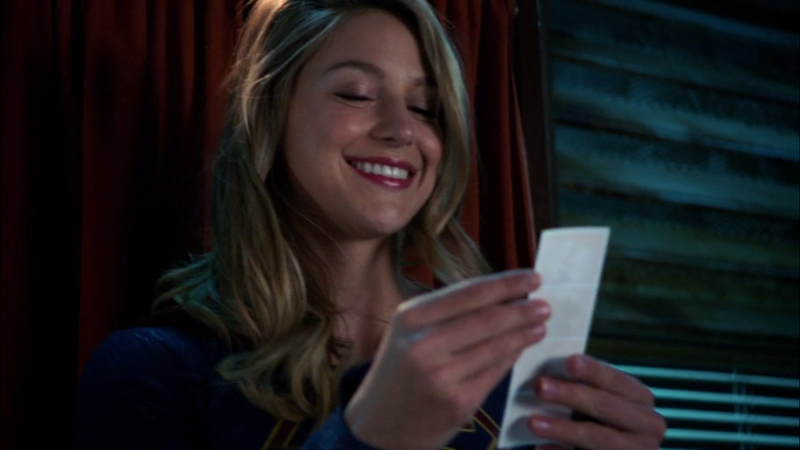 Her smile is brighter than my future. Also, loved those J'onn/M'yrnn and Lena/Sam storylines.