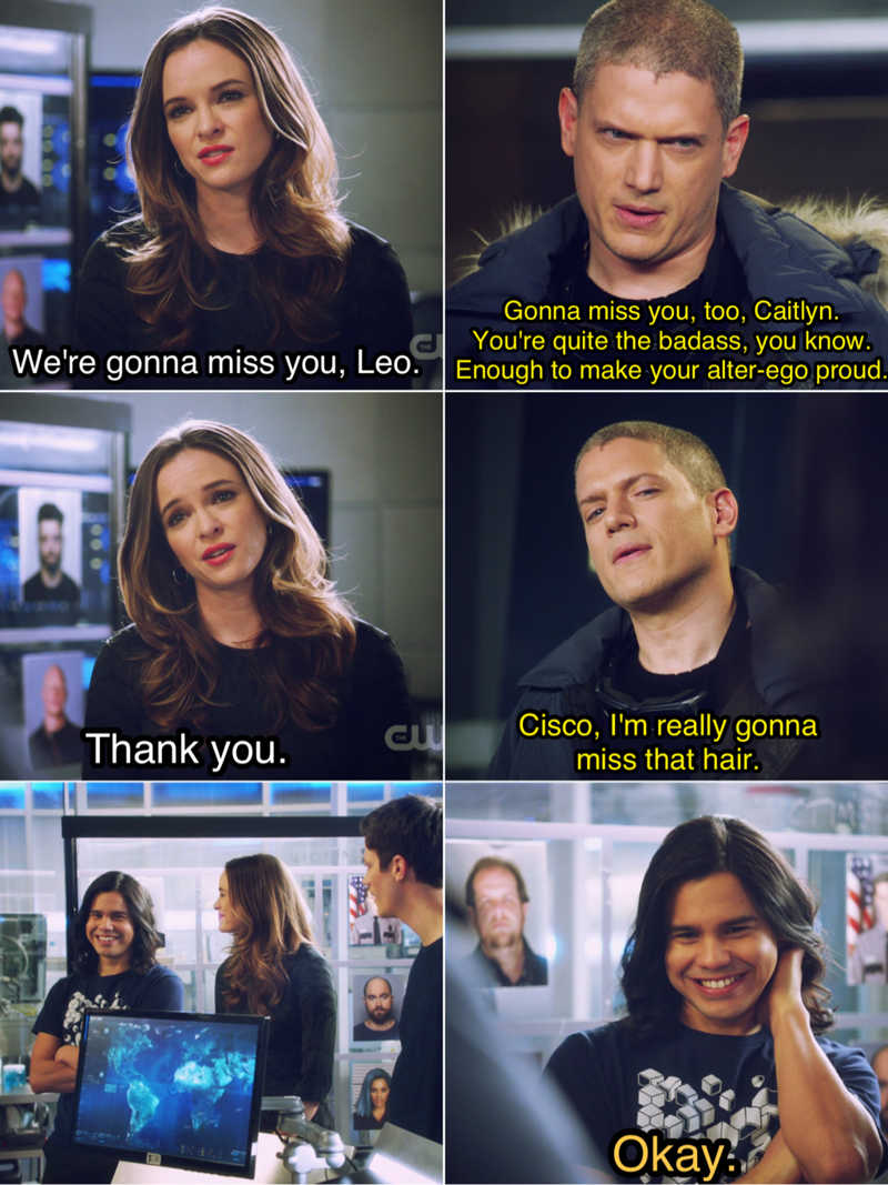 Cisco's reaction was the best 😂👌