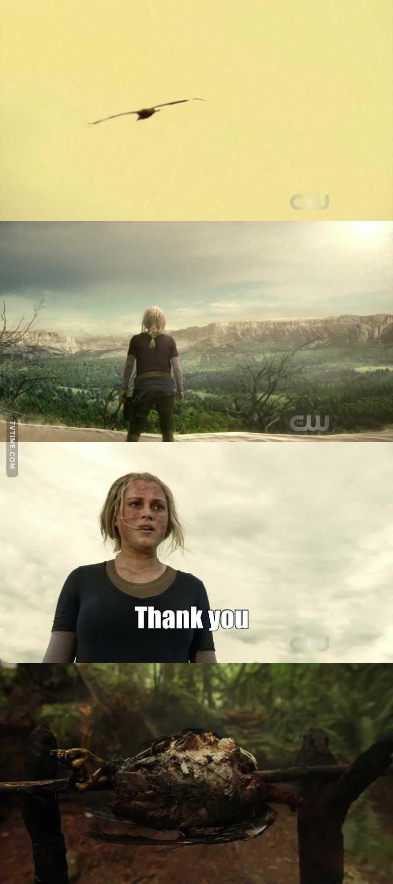 Be thankfull like Clarke :  😂😂