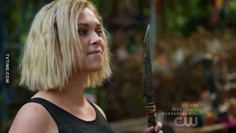 Just a minute to talk about Clarke's hair...  Thanks everyone