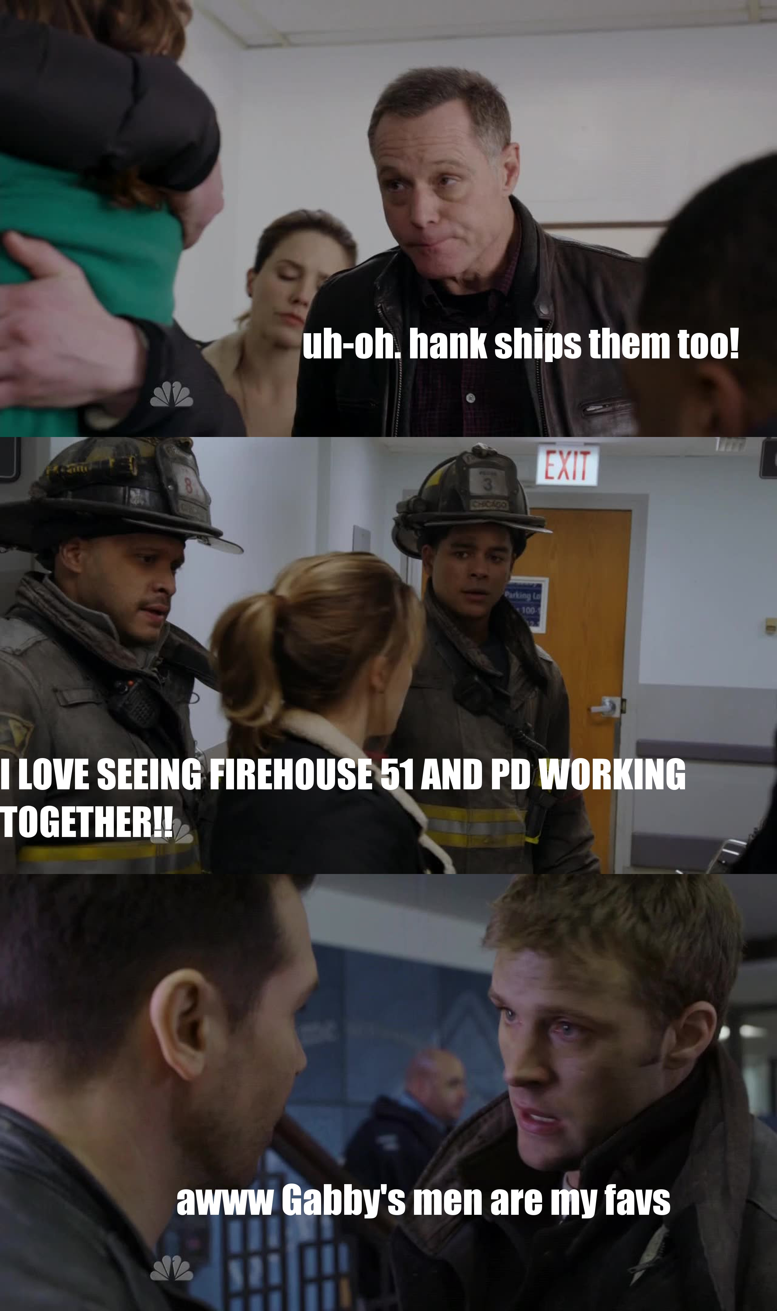 incredible episode! i love chicago fire & PD crossovers!