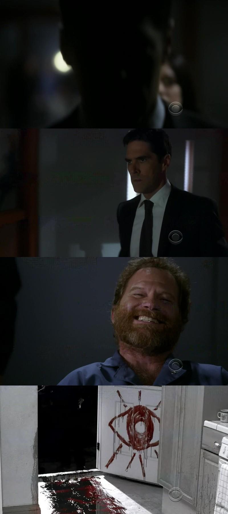 povero hotch... quel seriao killer lo sta uccidendo da dentro! povero 😢❤
