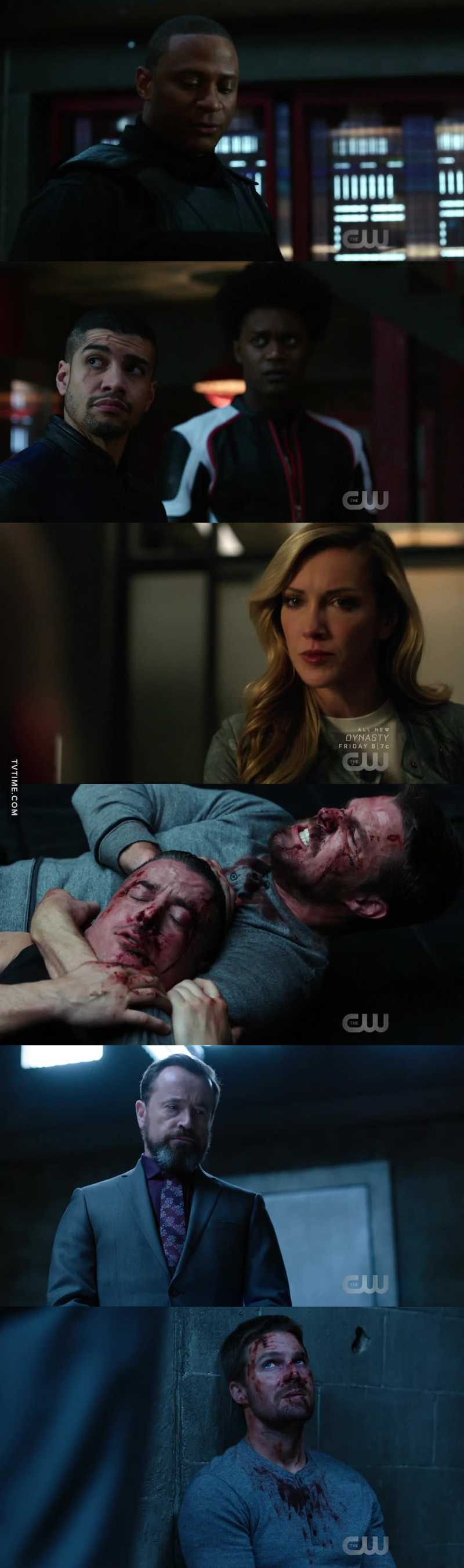 "So, first they had Felicity say sorry, now John. The next will be Oliver??? ARE YOU FUCKING KIDDING ME, ARROW WRITERS??? These asshole caused this whole thing. they are making me hate those three ""NTA"" even more now. And all this Laurel ""now I'm with Diaz bc I'm scared"" doesn't make ANY sense. she is a metahuman. she could easly take out Diaz by herself.  She singlehandedly beat the Flash once. I could have understood if it was Zoom or someone with powers but this is not the case. Also ""Dragon is a monster"" say the woman who killed many innocent people just for fun LMAO. even when Cayden James told her not to kill anyone she did it anyway, soooo...i mean, i understand she cares about Quentin and probably they want to redemer her but the way they are doing it is completely incoherent with her character. Anyway, I'm really liking Diaz as villain now. probably his fight with Oliver was the best scene of the episode. And I loved all Anatoly/Oliver scenes"
