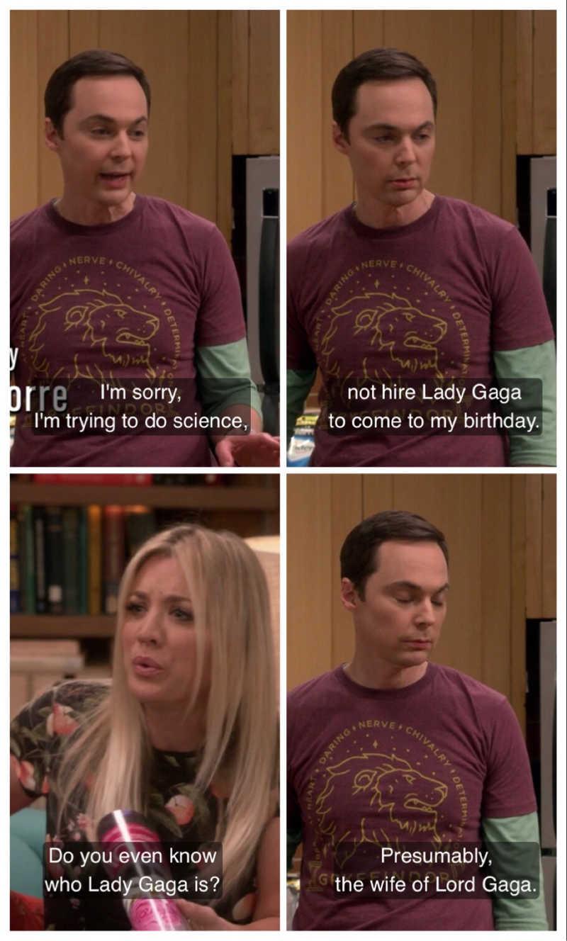 I love Sheldon 😂