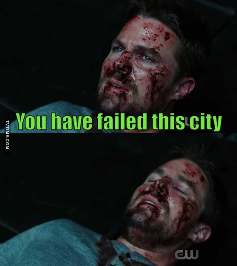He broke my heart when he said « you have failed this city » to Diaz 😭😭