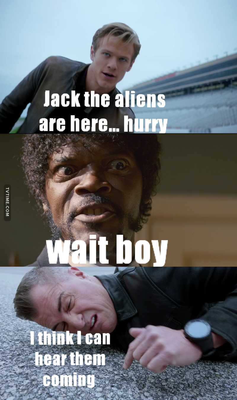 Can't imagine this show without Jack😂