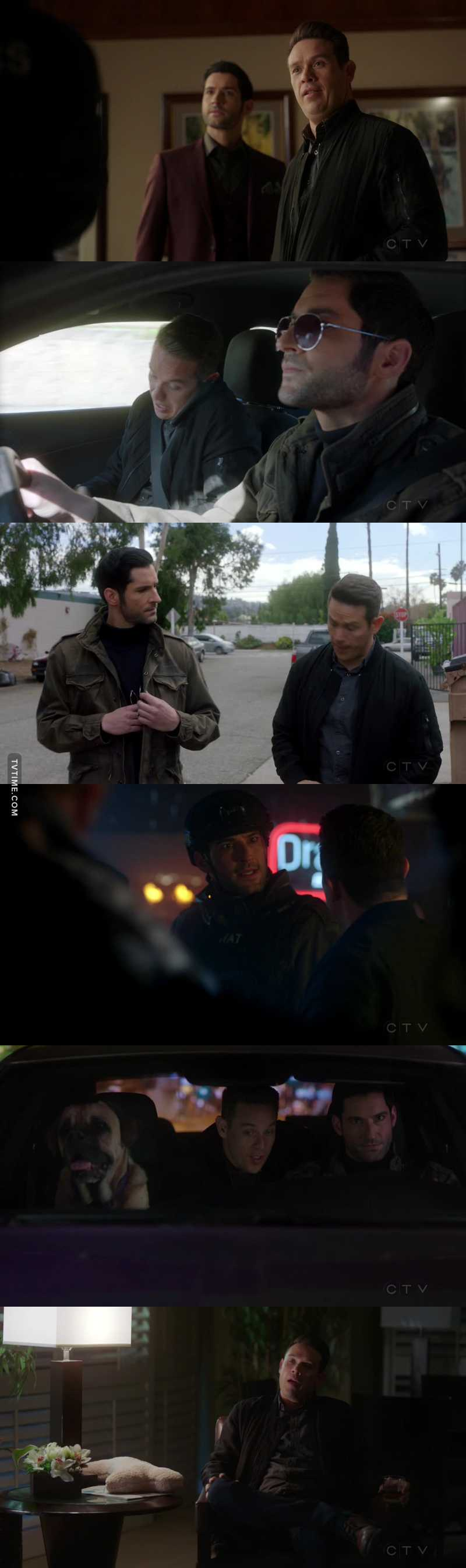 I know this episode is about Lucifer and his feeling for Chloe, but can we please appreciate Douchifer for a minute?