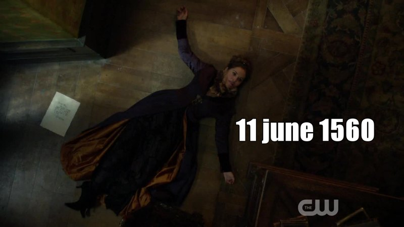 Marie de Guise died on june 11th of 1560... and Francis december the 5th of the same year... This mean that thanks to Delphine, Francis has still 6 months to go ! Maybe we'll have him until the end of season 3 *-*
