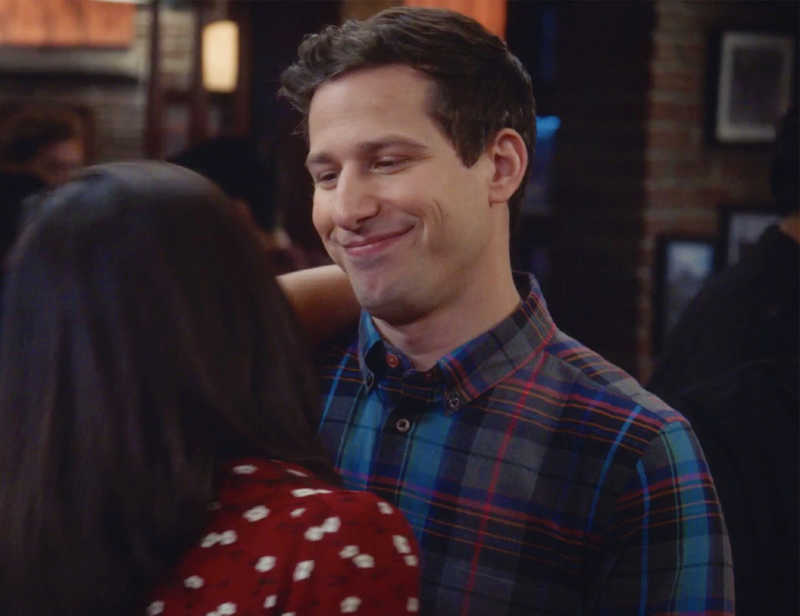 can y'all believe jake peralta invented heart eyes