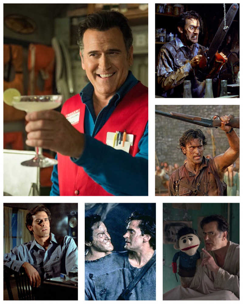 Goodbye Ash 😢 Thanks Bruce Campbell for portraying this bad ass silly character.