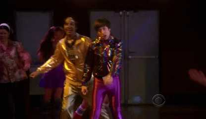 Howard and raj at the end doing there sequence loved it..