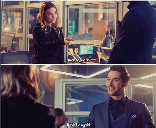 Lucifer and Chloe working together again. 🙌