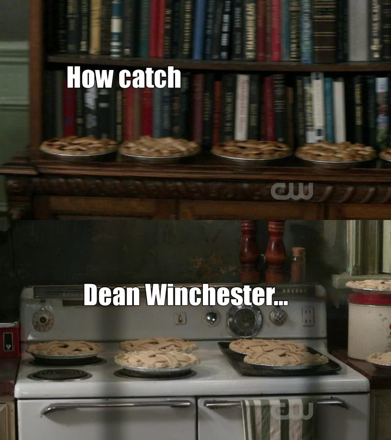 After Dream Catcher... Dean Catcher! 😂