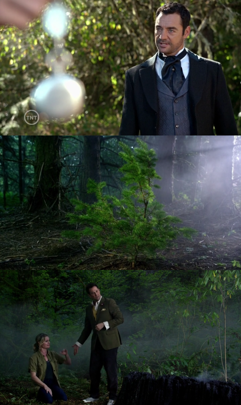 I like this Moriarty ! And the Tree of Knowledge ! Always growing ! Well... I am prettur sure the tree he burned was the Tree of Memory xD