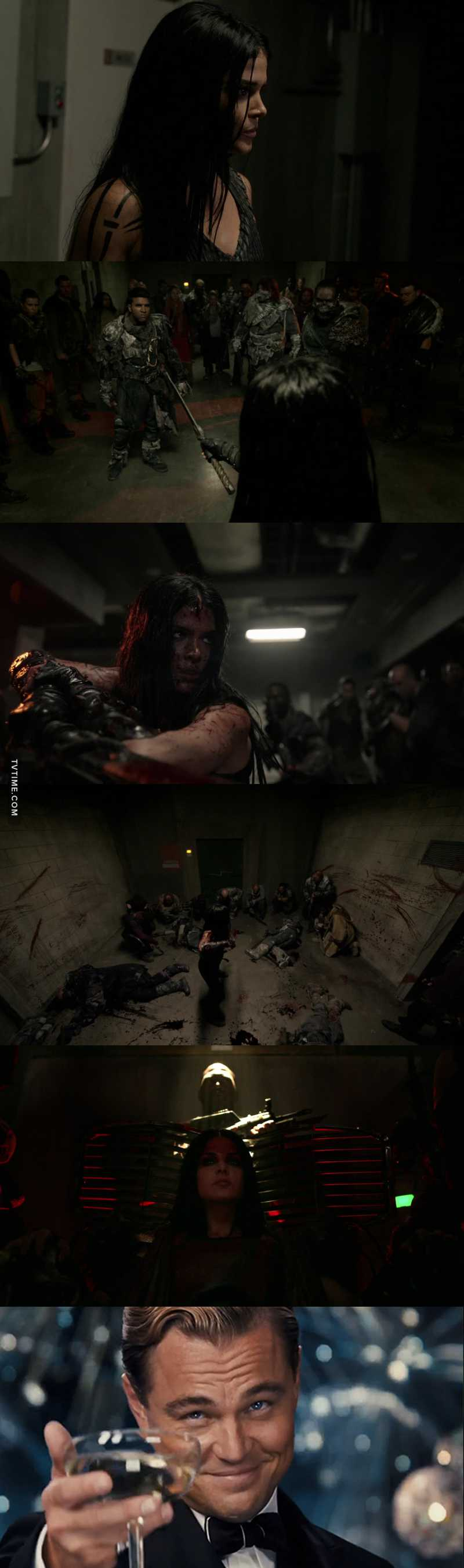 Octavia:You are WONKRU or you are the enemy of WONKRU? Choose.   Now that's my girl✌🏻🔥.