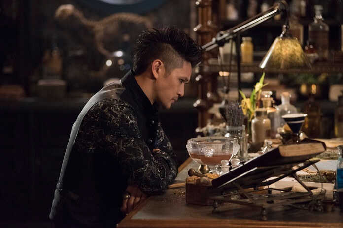 """Magnus is losing faith in himself, Jace killing his grandmother, Clary going to """"jail""""... Everything's alright...."""