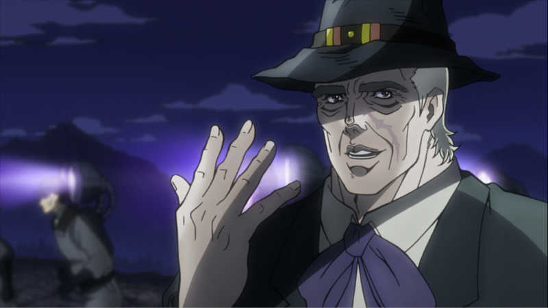 Of course Speedwagon saves the day ❤️