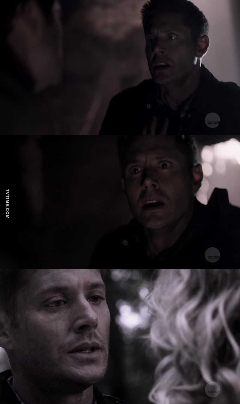 Even though I know they can't be dead for too long I almost had a panic attack and cried a lot. Dean's reaction just killed me, my heart broke into billions of pieces