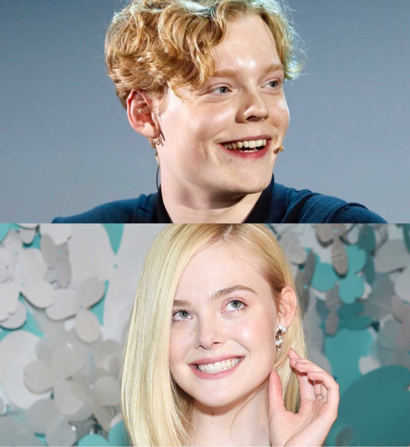 Ok so I think the actor who plays 'Rasmus' is the male version of Elle Fanning 😜