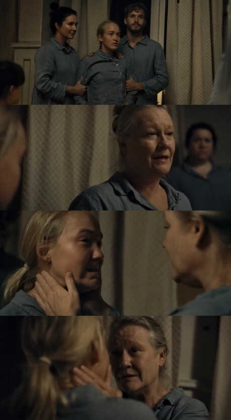 This was so sad, when the old woman sacrificed herself to save Lea I literally cried💔😢