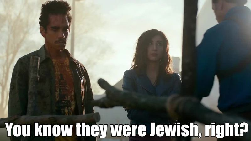 You know they were Jewish, right?