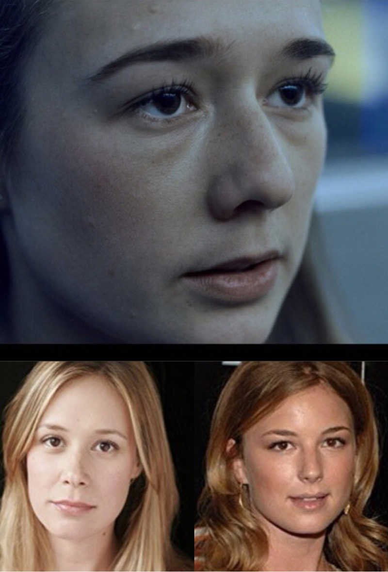 It's just me or Simone looks like Liza Weil's and Emily's VanCamp's loving daughter? I mean