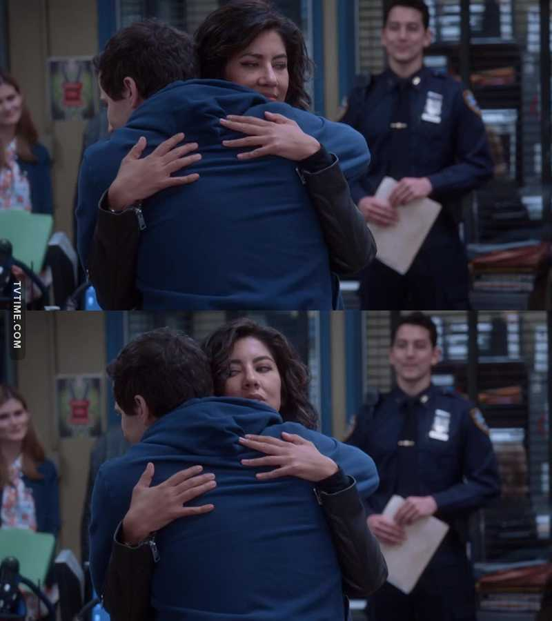 Jake and Rosa's relationship is the perfect example of what a healthy friendship between a man and a woman should look like.