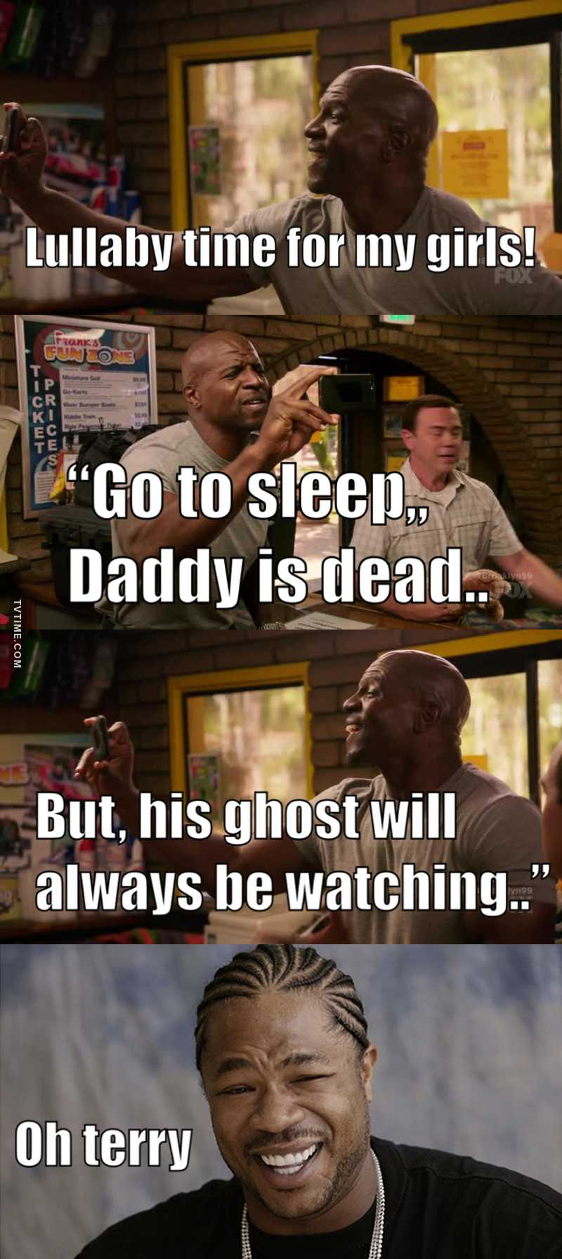 I'll always say it, Terry is the best dad ever 😂😂😂