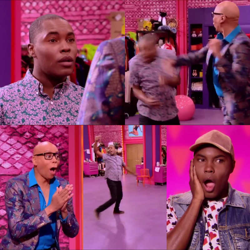 Mama Ru felt high key threatened by that read 👀 I mean at this point she couldn't let anyone win this challenge 😂 Love Asia 💘