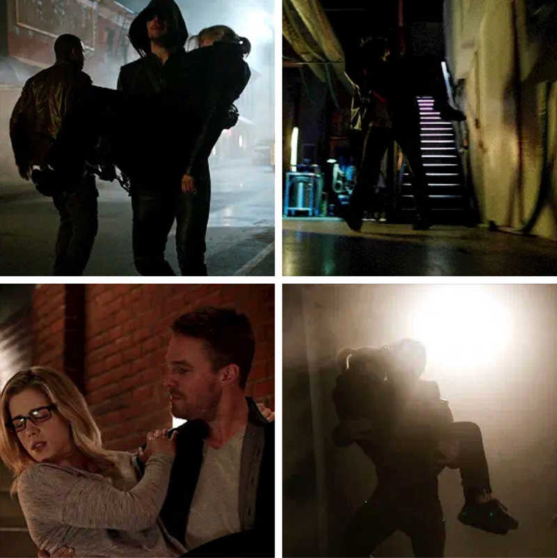 Oliver carrying Felicity is my favorite aesthetic!! ❤️