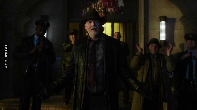 Give it up for Harvey Bullock. He really saved Gotham this time!