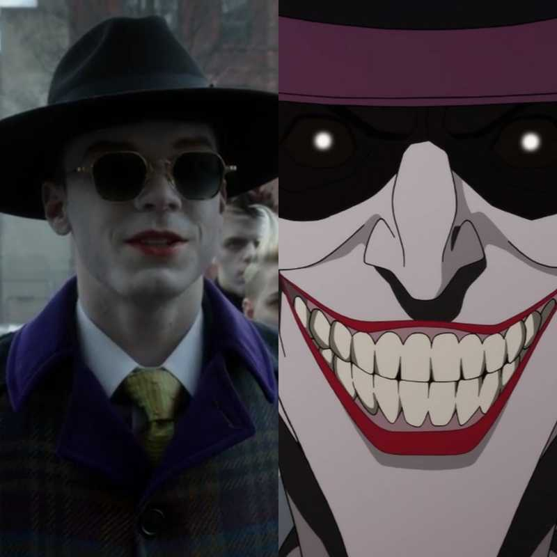 They did say the killing joke was inspiration... So very nice!