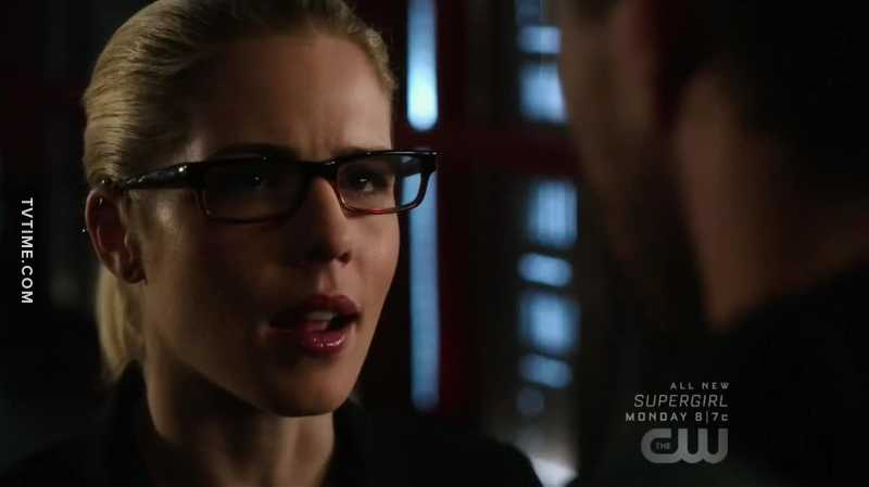 Felicity: WE are arrow.