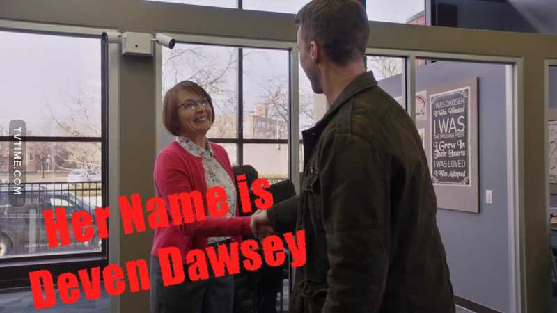 Did anyone else notice that her name is DAWSEY!!!😍😍😍😍