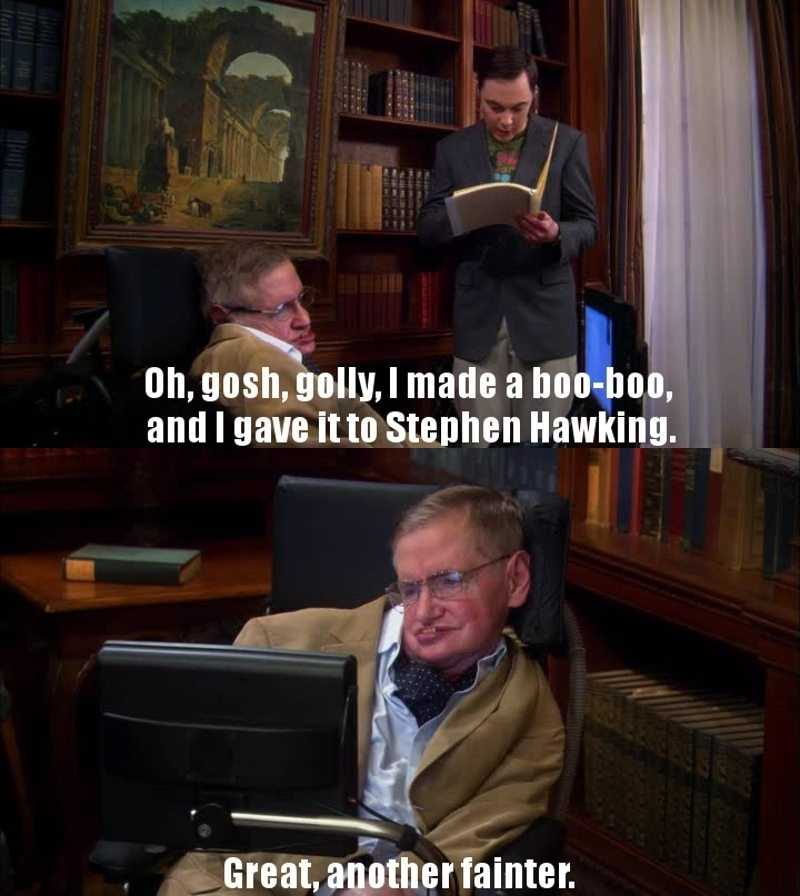 A great episode with the legendary Stephen Hawkins.. so sad he passed rip 💖