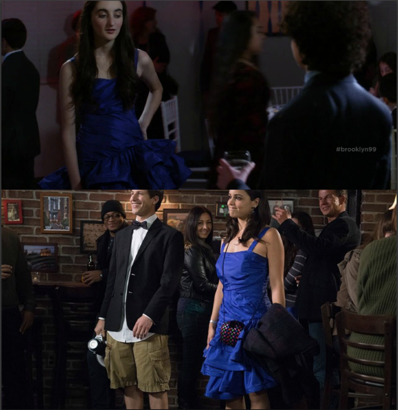 Omg, on their date after the bet, he made Amy wore the same dress than the girl of his worst breakup, I love him so much