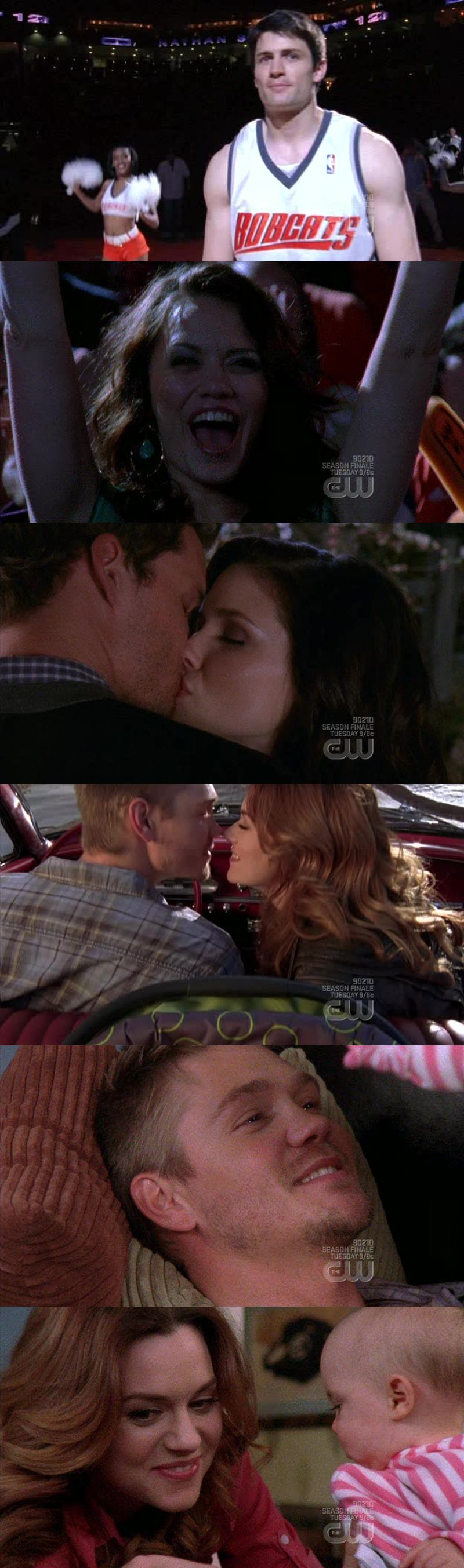 That would have made a great serie finale... But I get the feeling That season 7, 8 & 9 will be too much and boring.  Without Lucas & Peyton I don't know il i'll still Luke the show.