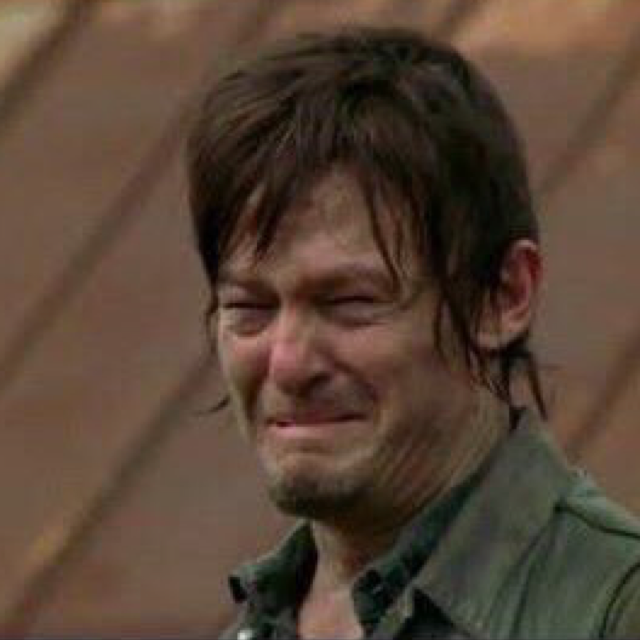 When you have to wait another week to see if Glenn survives