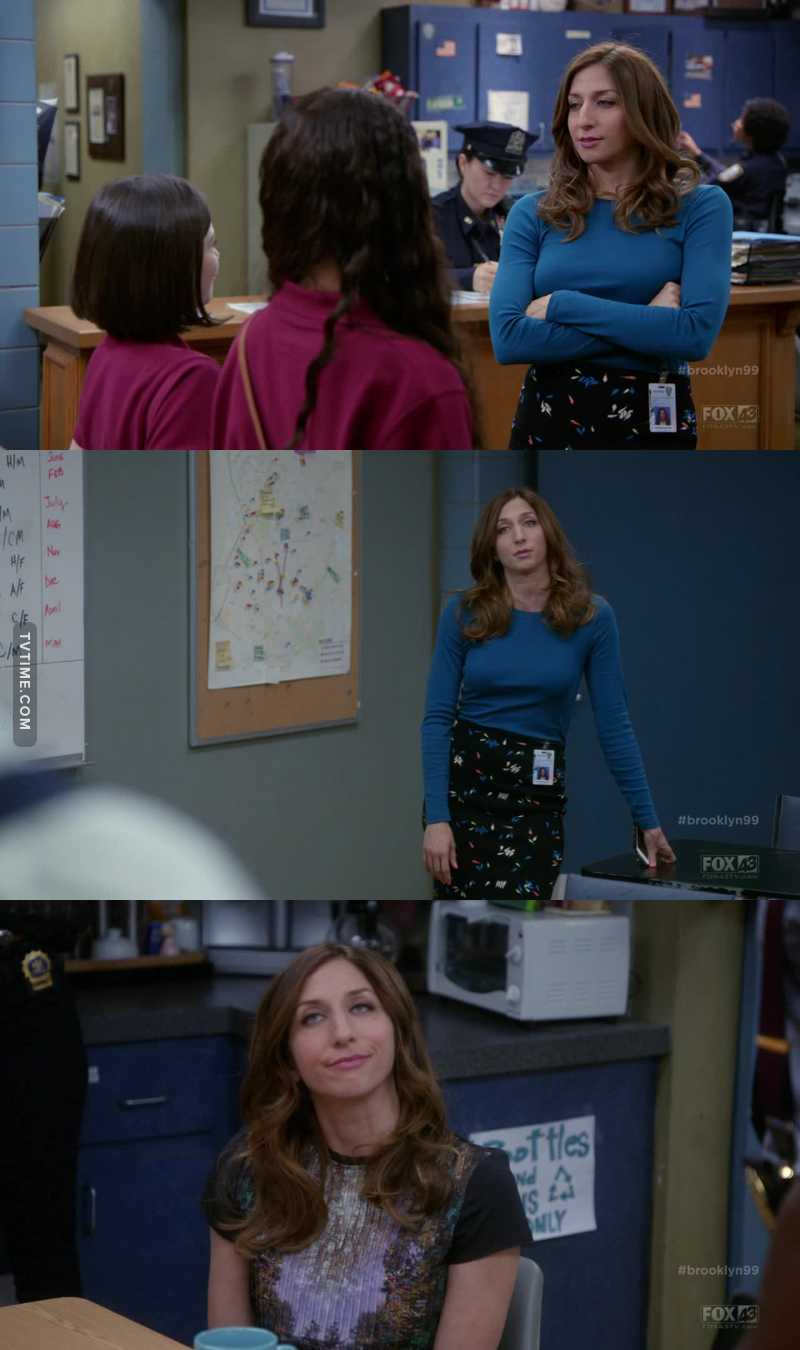 Gina might be one of the best characters in the WORLD, god i love her.