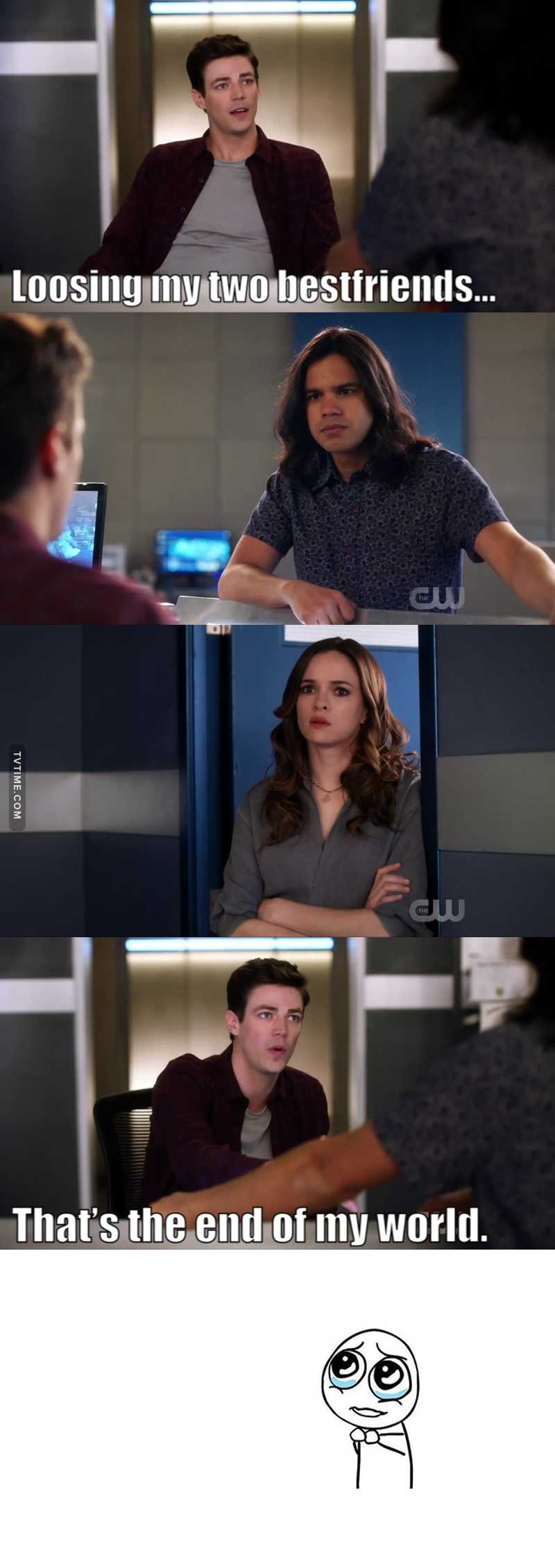 Awe! 😭😭😭 my babies! #originalteamflash