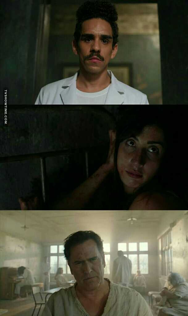 Great acting. This episode reminded me of  AHS : Asylum ❤.