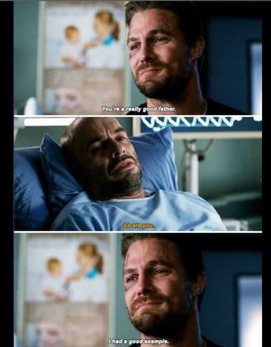 """yeah, your dad was a good man"" ""I'm not talking about my dad"" THIS SCENE KILLED ME 😭 I knew Paul was leaving the show (he has a new role in another show as the male leader, so I'm happy for him) but this was sooooo sad"